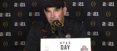 Media blasted Ryan Day for Ohio State's loss to Alabama. [©WBNS 10TV/ YouTube Screenshot]