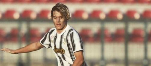Nicolò Fagioli, già parte della prima squadra della Juventus.