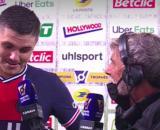 L'interview entre Laurent Paganelli et Mauro Icardi fait le buzz - Photo capture d'écran vidéo Canal +