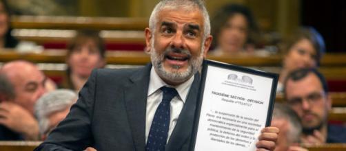 Dirigente de Ciudadanos, Carlos Carrizosa, cree que en Cataluña no hay ambiente para elecciones