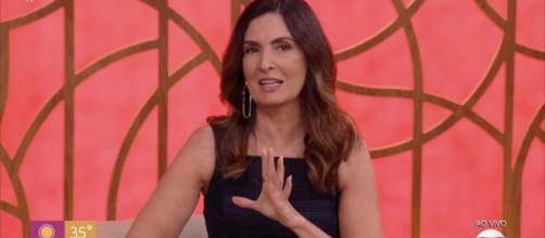 Fátima Bernardes ironiza Pazuello no programa 'Encontro'. (Reprodução/TV Globo)