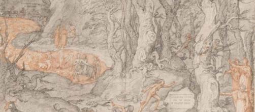 """Federico Zuccari, """"Inferno Canto XIII."""" © The Uffizi Gallery."""
