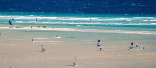 Imagen del Ion Club Fuerteventura en el Risco del Paso