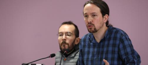 Portavoz de Podemos, Pablo Echenique, aboga por la creación de una empresa pública en el sector eléctrico