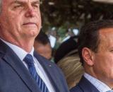 Bolsonaro ironiza vacina, e Doria rebate 'brincando de ser presidente'. (Arquivo Blasting News)