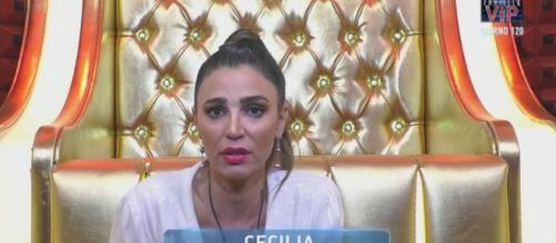 Grande Fratello Vip, il compagno di Cecilia Capriotti: 'Va in stress sulle nomination'.