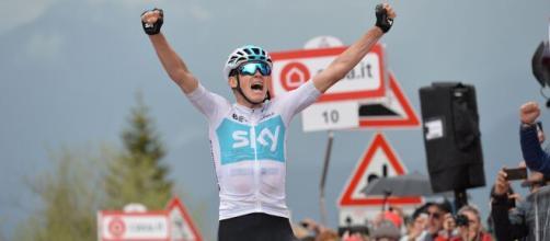 La vittoria di Chris Froome sullo Zoncolan nel Giro d'Italia 2018