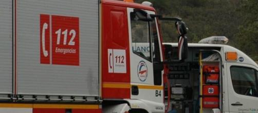 Los bomberos sólo pudieron certificar el fallecimiento del británico residente de Comares.