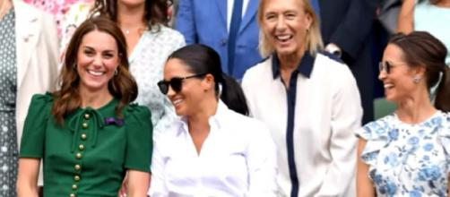 Meghan sends greetings and gifts to Kate on her birthday. [I©Entertainment Tonight YouTube video]