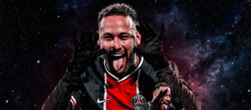 Neymar provoque Alvaro sur Twitter, ils se clashent ensuite. ©neymarjr Twitter Capture