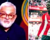 """Racisme : Olivier Rouyer dérape en direct sur L'Equipe, ses propos jugés racistes - ©montage Capture vidéo """"L'équipe"""" / williaaaams11 Instagram"""