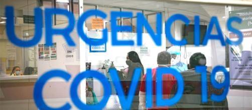 Aumento de incidencias por la COVID-19 en los hospitales españoles.