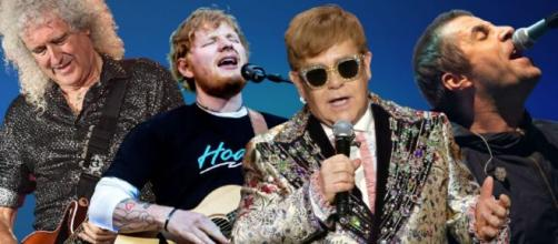 Elton John, Ed Sheeran, Liam Gallagher, Bryan May e altri 100 musicisti contro il Governo dopo la Brexit.