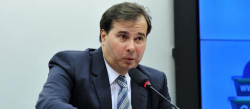 Rodrigo Maia comenta falta de oxigênio em Manaus. (Arquivo Blasting News)
