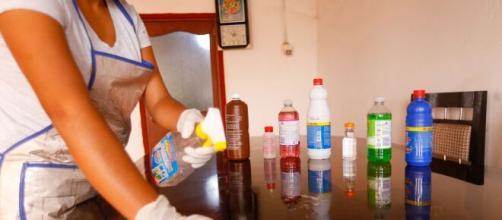 Usar cloros y desinfectantes previene enfermedades en casa.