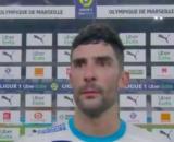 Alvaro Gonzalez dézingue ses coéquipiers en interview d'après match - © capture d'écran vidéo Twitter
