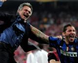 Nella foto José Mourinho e Marco Materazzi.