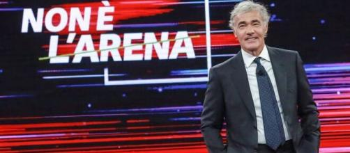 Non è l'Arena, anticipazioni 17 gennaio: ospite Matteo Renzi, si parlerà del caso Mauro Corona.