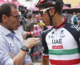 Davide Cassan crede ancora al rilancio di Fabio Aru.