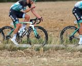 Suv investe diversi ciclisti della Bora-Hansgrohe.
