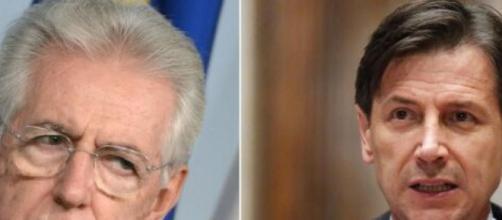 Mario Monti detta le sue condizioni per la fiducia a Conte.