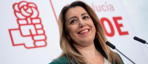 Susana Díaz ha sostenido que no va a retirar su candidatura para dirigir el PSOE en Andalucía