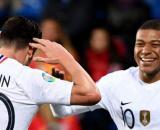 Florian Thauvin e Mbappe con la Francia.
