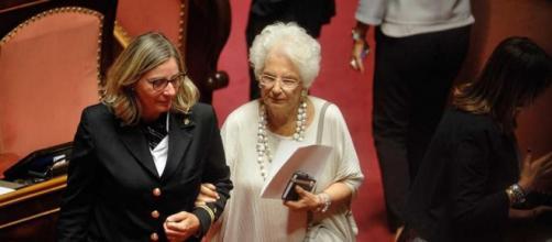 Andrea Scanzi: 'Liliana Segre rischia la vita in Senato'.