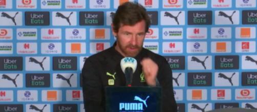 AVB dézingue Dario Benedetto en pleine de conférence de presse - ©Photo capture d'écran vidéo