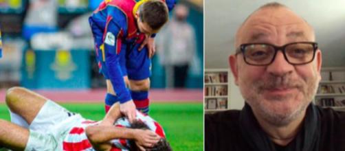 Fred Hermel dézingue Messi - © capture d'écran Vidéos Youtube