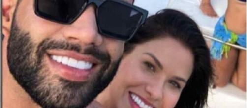 Gusttavo Lima e Andressa Suita curtiram fim de semana juntos. (Reprodução/Instagram)