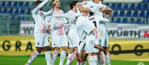 Il Milan sbanca la Sardegna Arena grazie ad una doppietta di Ibrahimovic foto di acmilan.com