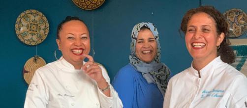 """Plus de 200 femmes sont formées à devenir des """"Mama"""" cheffe de cuisine.©Meet My Mama"""