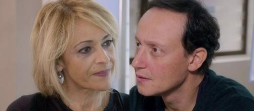 Un posto al sole, Silvia (Luisa Amatucci) e Diego (Francesco Vitiello),
