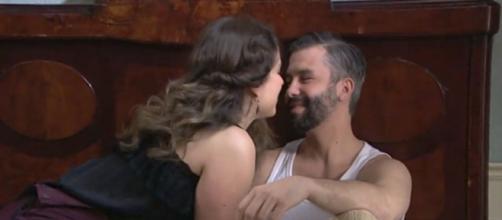 Una Vita: Genoveva e Felipe sempre più vicini.
