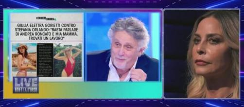 GF Vip, Simone Gianlorenzi contro l'ex marito della Orlando: 'Attacco gratuito'.