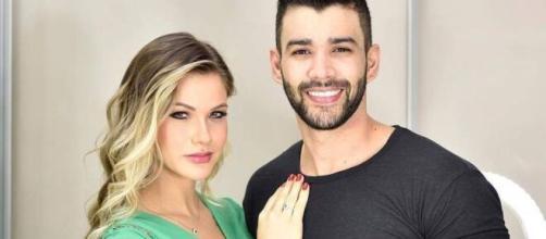 Gusttavo Lima estaria tentando reatar o casamento com Andressa Suita. (Arquivo Blasting News)