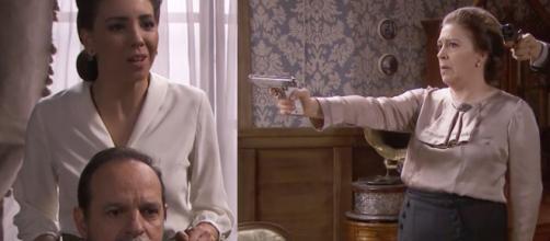 Il Segreto, spoiler al 29/01: Matias salva Emilia, arriva Jean Pierre il presunto papà di Adolfo.