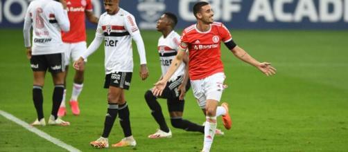 Internacional aplicou 5 a 1 contra o São Paulo em pleno Morumbi. (Arquivo Blasting News)