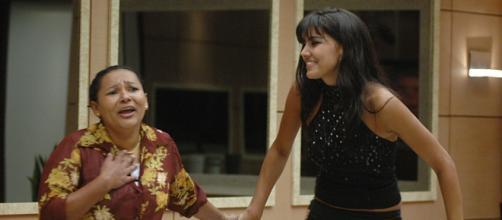 Mara e Mariana foram as finalistas do 'BBB6'. (Reprodução/TV Globo)