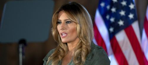 Melania Trump se despide de los estadounidenses