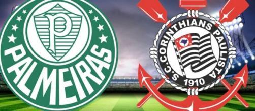 Palmeiras 4 x 0 Corinthians. (Arquivo Blasting News)