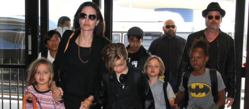 Brad Pitt, pasa Nochebuena con sus hijos biológicos