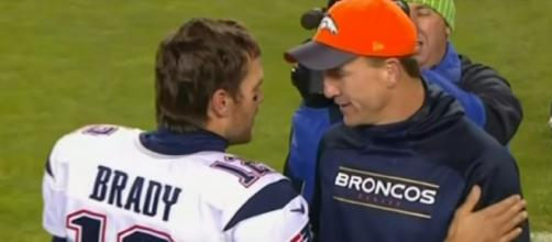 Brady and Manning had one of the best rivalries in the NFL. © Luca Celebre/YouTube]