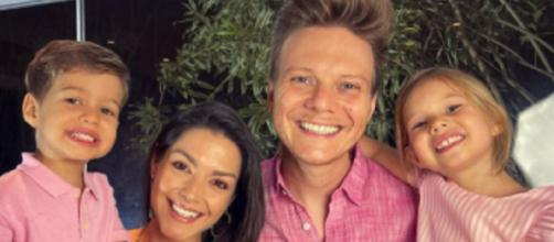 Família de Michel Teló combinaram no look. (Reprodução/Instagram/micheltelo)