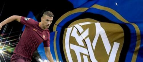 Il calciatore della Roma Edin Dzeko piace ancora all'Inter di Antonio Conte.