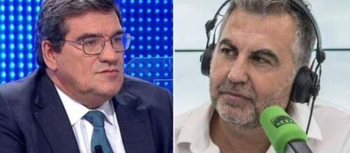 Escrivá ha protagonizado durante su entrevista con Carlos Alsina un enfado importante sobre las pensiones