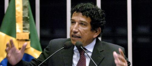 Ex-senador Magno Malta é apoiador do presidente Jair Bolsonaro. (Arquivo Blasting News)