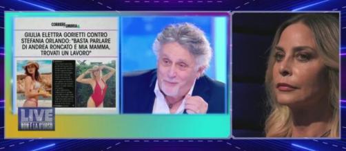 Grande Fratello, Roncato ancora contro Orlando: 'La ex di Roncato, che cominci a dire che è la moglie del povero Simone'.