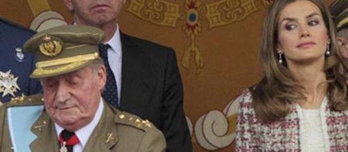 Letizia y Juan Carlos I, una relación que no ha sido buena.
